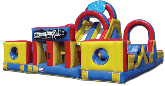 Adrenaline Rush Inflatable Obstacle Course Abr Party